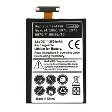 NEW 2500mAh Battery Replacement for LG Optimus G Google Nexus 4 E960 E970 BL-T5