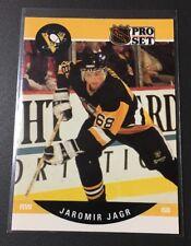 NHL Hockey Card 1990 Pro Set Jaromir Jagr Penguins #632 Rookie