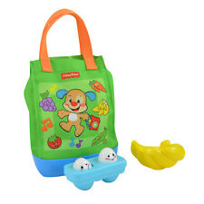 Fisher Price Laugh & Learn Sing n' Learn Musical Shopping Tote