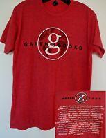 Garth Brooks World Tour Concert T Shirt Red Medium ( M )