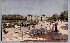 Villes de France Jiardin du Luxembourg TUCK Oilette 109 N° 64 PC Circa 1905
