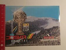Aufkleber/Sticker: Joska Crystal Ski World Cup Arber (27011775)
