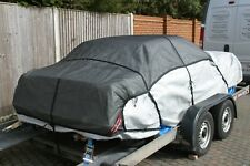 Car Cover & Cover Hugger Trailer Net Heavy Duty Stops Covers Bolwing Around