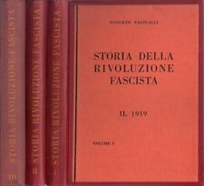 Libri - Storia della rivoluzione fascista (3 volumi)