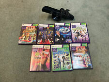 Xbox 360 kinect Bundle With Games Model 1414