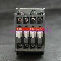 NEW ABB AC contactor A16-40-00 220V  3 month warranty