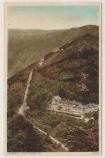 Devon postcard - Lynmouth, Countisbury Hill (A2160)
