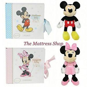 ~❤️~DISNEY BABY Minnie Mickey Mouse Soft Toy 30cms PHOTO ALBUM 50 photos❤️