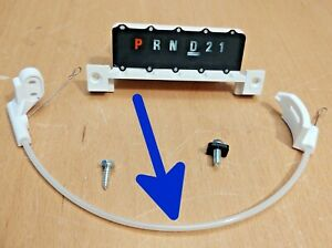 87-91 Shift Indicator Cable Ford F150 F250 F350 Bronco Automatic Trans New