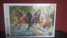 NEW Trefl 1500 Pieces 3 Wild Horses