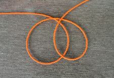 Handmade Simply Orange-Single Strand African Waist beads, Belly Beads