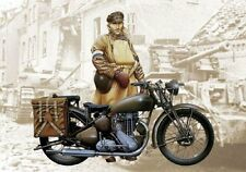 Triumph 3HW - MILITARY MOTOR BIKES 1/9 - Italeri 7402