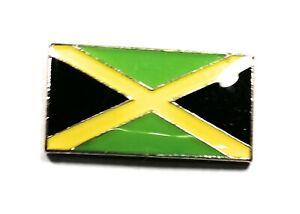 Jamaica / Jamaican Flag Enamel & Metal Lapel / Pin Badge - 20mm Gift BRAND NEW