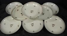 "Nine 1780's Chinese Export Sepia Palate 5 1/2"" Diameter Bowls"