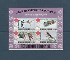 Togo bloc jeux olympiques de Sapporo   de 1971    num:  56   **