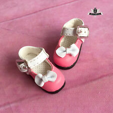 1/8 BJD Shoes LATI Dollfie DREAM DIM DOD AOD SOOM Tiny Shoes Lolita Rosy 3.5cm