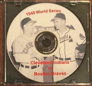 1948 World Series Cleveland Indians vs Boston Braves - Feller Sain Spahn