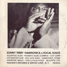 Sonny Terry - Sonny Terry - Harmonica and Vocal Solos [New CD]