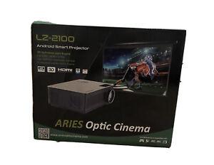ARIES LZ -2100 Projector bundled with Zero Edge Motorized 4K Screen