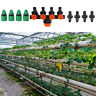 4 Way Hose Splitter Distributor Water Tap Connector Drip Garden Irrigation Tool