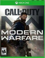 Call of Duty: Modern Warfare Xbox (NO CODE, NO DISC) Please read