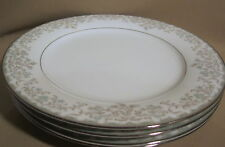 Noritake Raleigh 5816 Lot of 4 Dinner Plates