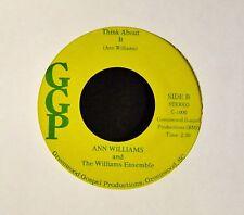 HEAR MP3 BLACK GOSPEL Ann Williams And The Williams Ensemble GGP 1000