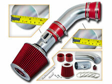 Short Ram Air Intake + RED Filter For 08-10 Hummer H3 H3T 3.7L L5/Canyon 2.9L