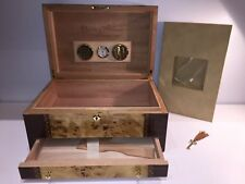 Cuervo y Sobrinos Pirata Full Size Spanish Cedar Humidor Watch Box