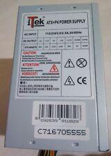 iTek ATX+P4 POWER SUPPLY 600W ALIMENTATORE ATX SILENT GREY FAN 12CM C716705555