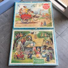 Victory Wooden Puzzles - Rare - Vintage Jigsaws
