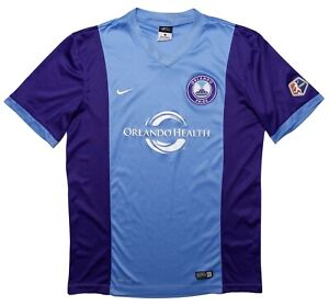 NIKE Orlando Pride NWSL Soccer Jersey Purple Blue Medium M