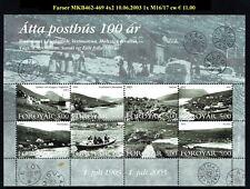 FAROER KB462-469 4x2100 J Faroese Post