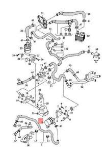 Genuine AUDI VW A6 Avant S6 quattro A6L A7 Sportback A8 Coolant Pump 4N0965567