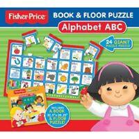 Fisher-Price Alphabet Livre & 24pc Sol Puzzle Enfants Coffret