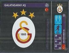 PANINI UEFA CHAMPIONS LEAGUE 2014-15- #019-GALATASARY AS BADGE-SILVER FOIL