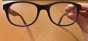 Brille IN STYLE ISCF 17, rosa/aubergine, mit Gläser (Stärke 1.0), sehr chic