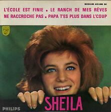 SHEILA L'ECOLE EST FINIE FRENCH ORIG EP SAM CLAYTON