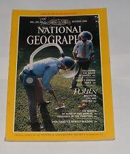 NATIONAL GEOGRAPHIC MAGAZINE OCTOBER 1984 - CORTES/DOURO RIVER/POLLEN/MAORIS