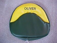 Oliver TRACTOR SEAT Cushion for OLIVER 60, 66, 70, 77, 80, 88 Embroiderd