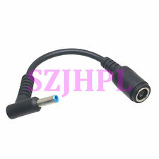 4.5x3.0x0.6mm male RA Adapter 7.9x7.4x5.0mm female DC power HP DELL Laptop cable