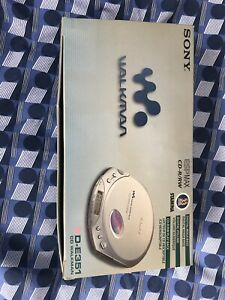 Sony  Walkman D-E351 New In Box Never Used Opened Only