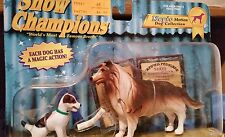 1997 Empire Magic Motions Dog Collection Show Champions Collie/Jack Russell NIP
