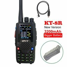 New QYT KT-8R Battery Quad Band Radio 5W 144/430mhz 2 Way Radio 3200mAh Battery
