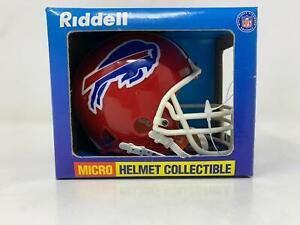 Vintage Riddell Micro Mini Helmet Collectible, Buffalo Bills, 1998