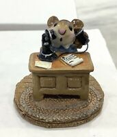 """Wee Forest Folk: """"Office Mouse"""" Telephone, Collectibles, M-68"""