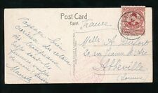 EGYPT 1934 PUC CONGRESS CANCEL + POSTMARK on PPC SHEPHERD...ERNST LANDROCK CARD