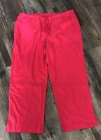 Greys Anatomy Barco Womens Scrub Pants Size 3XL Coral Nursing Tech Excellent
