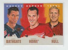(62968) 2011-12 UPPER DECK HOCKEY HEROES 1950's ART HOWE-HULL-BATHGATE #HH-13
