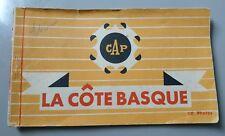 Carnet 9 cpsm - La Côte Basque - Bayonne, Guéthary , St Jean de Luz , Hendaye